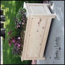 Decorative Planter Boxes 100L X 100W X 100H Deluxe Raised Panel Deck Planter 6