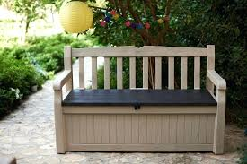 wooden outdoor storage box bench storage containers for patio furniture cushions cushion bench waterproof wooden outdoor box deck garden front wooden