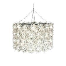 worlds away peony capiz fl pendant capiz shell flower pendant light lighting s nyc