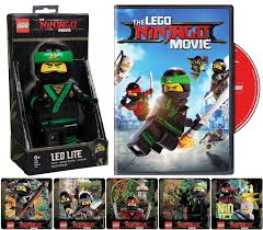 Amazon.com: Lloyd Leading The Spinjitsu Charge: The Ninjago Movie DVD + LEGO  Ninjago Movie Lloyd LED Torch Night Light/Reading Light + Bonus LEGO  Stickers Lloyd, Nya, Cole, Zane and Kai in Ninjacity: