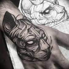 эскизы тату сфинкс коллекция рисунков особенности фото значение