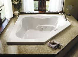 corner bathtub acrylic double hydromassage