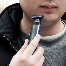 Máy Cạo Râu Viền Viền Viền Micro Touch SOLO Có Thể Sạc Lại Dao Cạo An Toàn  Thông Minh Cho Nam