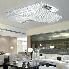 rectangular flush mount ceiling light rectangle led crystal flush mount ceiling light fixture bulbs included in