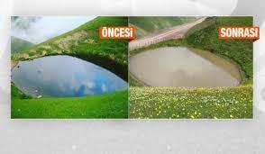 Definecilerin mahvettiği Dipsiz Göl, 'çamur göl' oldu - SEYAHAT Haberleri