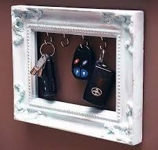 DIY Vintage Keys Frame.