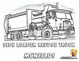 Small Picture Garbage Truck Coloring Page Top Coloring Garbage Truck Coloring