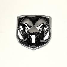 black dodge ram logo. black head grill tailgate emblem badge sticker decal for dodge ram chromed metalchina logo u