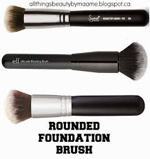morphe blending brush. the round, domed shape allows bristles to blend as they brush. this results in a streak free flawless finish for any liquid, morphe blending brush