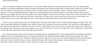 cause and effect essay on drinking and driving 5 paragraph essay cause and effect whitecloud90s blog