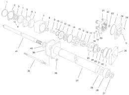Power steering valve assembly no 92 7308