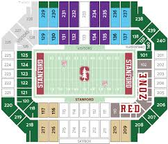 Stanford Stadium Seating Chart Stanford Football Central Tickets Accessibility