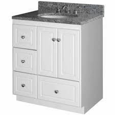 bathroom vanities strasser woodenworks 30w simplicity vanity with bathroom base cabinets with drawers