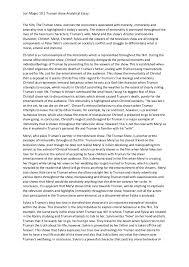 Examples Of Analytical Essays Analytical Essay Sample Under Fontanacountryinn Com