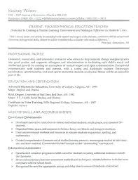 Resume Examples Teacher Teaching Resume Objective Examples Cover