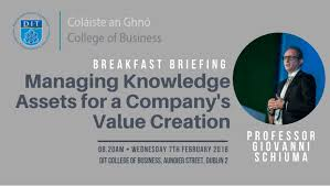 DIT College of Business Breakfast Briefing- Wednesday 7th February