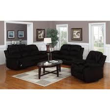 classic oversize and overstuffed real leather sofa loveseat and single chair recliners free today 12179394