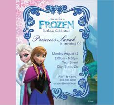 birthday invitations samples 24 frozen birthday invitation templates psd ai vector eps