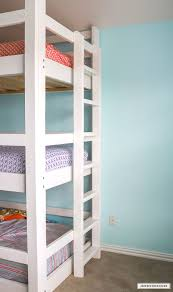 3 Bunk Beds Designs How To Build A Diy Triple Bunk Bed Plans And Tutorial