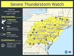 N.J. weather: All of N.J. under severe ...