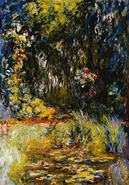 corner of a pond with waterlilies painting claude monet corner of a pond with waterlilies