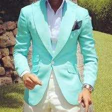 New Designer Coats Light Blue Men Suits New Designer Wedding Grooms Tuxedo