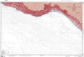 Mexico Navigation Charts Nga Nautical Chart 21023 Acapulco To Puerto Madero Mexico West Coast Omega