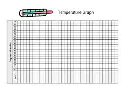 Temperature Chart Daily Temperature Graph Worksheet