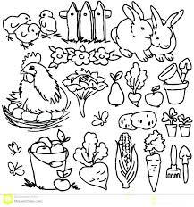 jungle themed coloring pages book farm s realistic colo