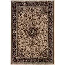 oriental weavers ariana 095i8 ivory black area rug