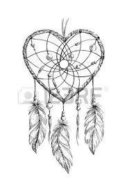 Heart Dream Catcher Tattoo Dream Catcher Tattoo Stock Photos Royalty Free Business Images 39