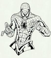Spiderman Coloring Pages To Print View Larger Free Super Printable
