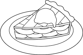 Small Picture Apple Pie Line Art Free Clip Art