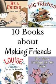 10 encouraging books about making friends