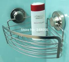 suction cup shower caddy suction shower shelf suction cup shelf bathroom corner basket bathroom accessories stainless suction cup shower caddy
