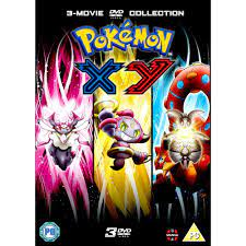Pokemon Movie 17 to 19 Collection - XY DVD