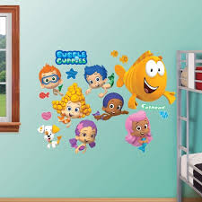 >bubble guppies collection wall decals by fathead
