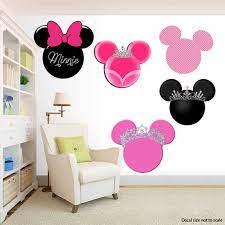 minnie mouse wall decal zimmer dekor