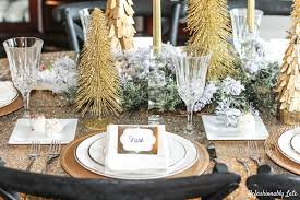 finest gorgeous christmas tablescapes.