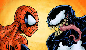 How To Draw Spider Man Vs Venom Step By Step Drawing Guide By Kingtutorial Dragoart Com
