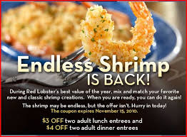 Rare Red Lobster Coupons
