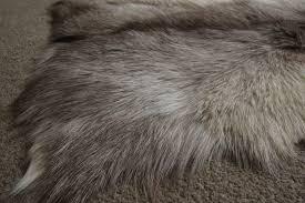 natural mixed goatskin rug mx1 137x61cm