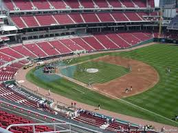 Joe Bruno Stadium Seating Chart Great American Ball Park Seat Views Section By Section