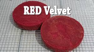 Resep Red Velvet Cake Mudah Cara Membuat Kue Ultah Sederhana Youtube