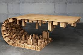 If You Loved Inception, You'll Love This Wave City Coffee Table