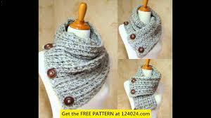 Easy Crochet Scarf Patterns For Beginners Free Interesting Easy Crochet Scarf Patterns For Beginners YouTube
