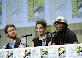 Cobie Smulders - Marvel Studios Comic-Con 2014 Panel • CelebMafia
