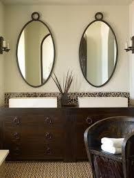 Suzie Kara Mann Design Green & brown Mediterranean bathroom