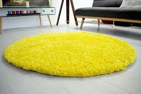 plain yellow circle gy rug ikea