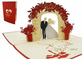 Pop Up 3d Wedding Card Pop Up Card Wedding Wedding Invitation And Wedding Greetings Wedding Day